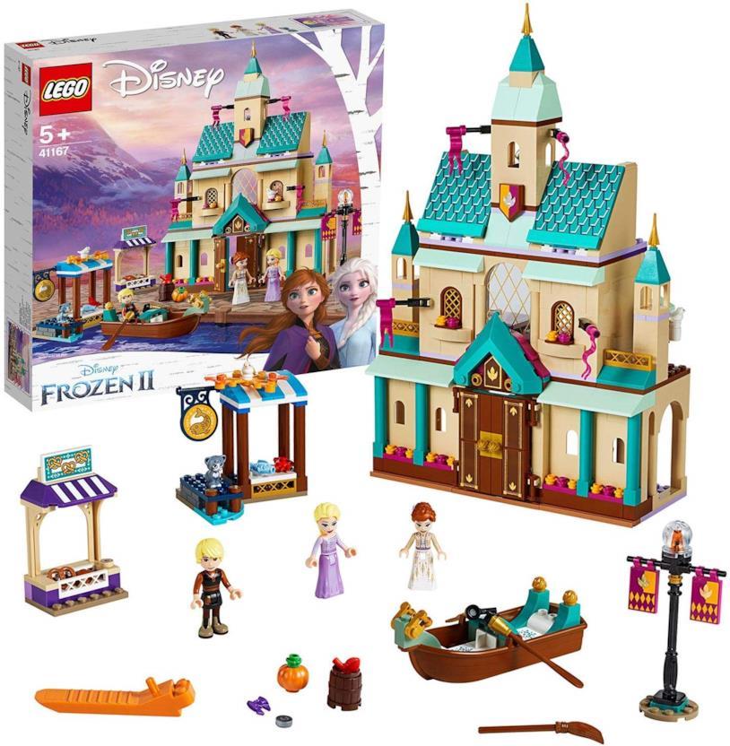 Il villaggio del Castello di Arendelle - set LEGO di Frozen 2