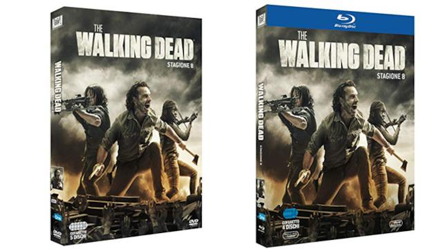 The Walking Dead: stagione 8 - Home Video