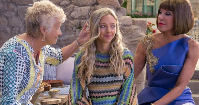 Una scena di Mamma Mia! Ci risiamo