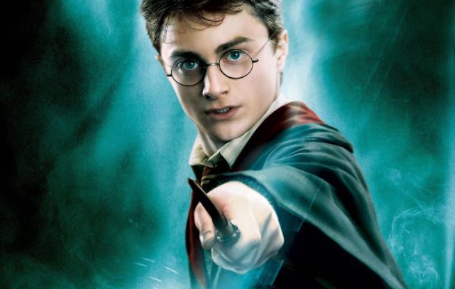 Harry Potter e la sua bacchetta