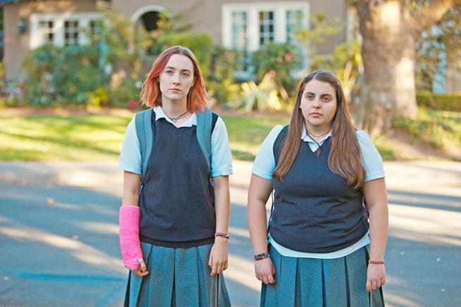 Saoirse Ronan e Greta Gerwig