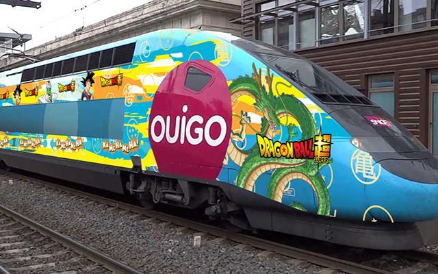 Treno dedicato a Dragon Ball