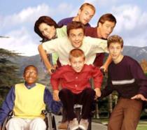 Il cast di Malcolm in the Middle al completo