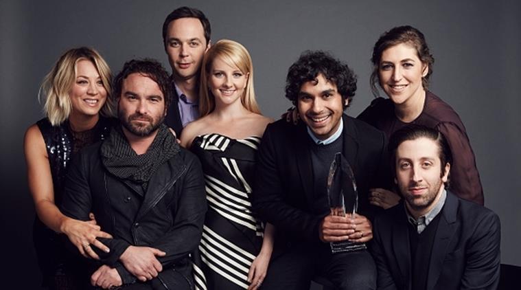 Penny, Sheldon, Leonard, Howard, Raj, Amy e Bernadette di The Big Bang Theory