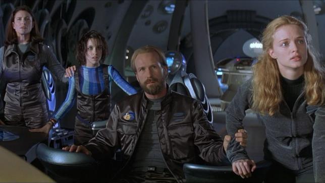 Una scena del film Lost in Space