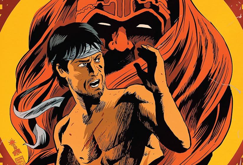 Dettaglio della cover di Master of Kung Fu (2015) #4