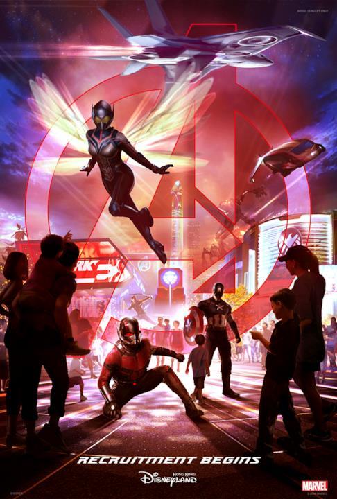 Ant-Man e The Wasp saranno protagonisti della nuova area a tema Marvel di Hong Kong Disneyland