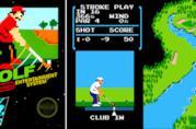 La cover originale di Golf per NES