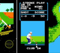 La cover originale di Golf per NES