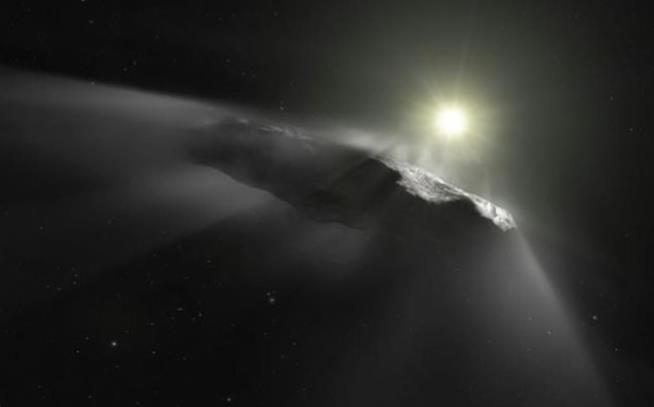 Scatto di Oumuamua