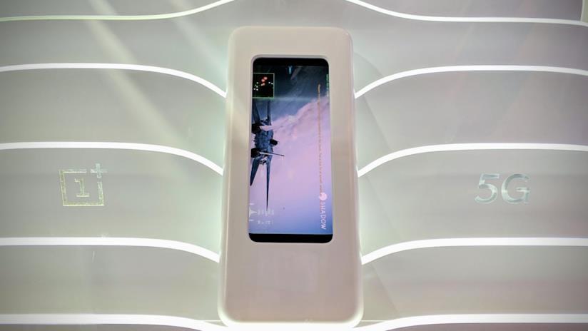 Foto del OnePlus 5G scattata al MWC2019