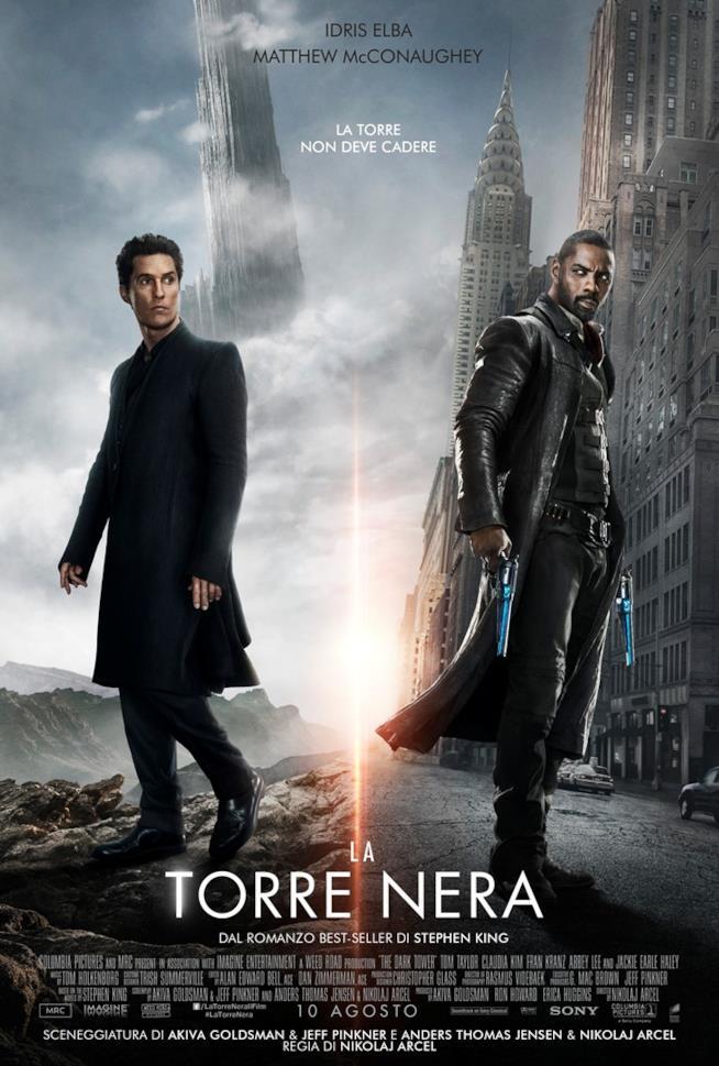 Poster italiano La Torre Nera