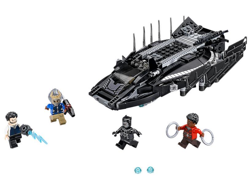 Dettagli del set L'attacco del Royal Talon Fighter di LEGO
