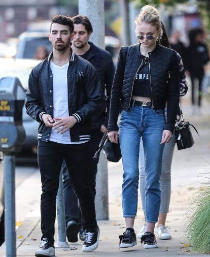 Sophie Turner e Joe Jonas in giro per Los Angeles