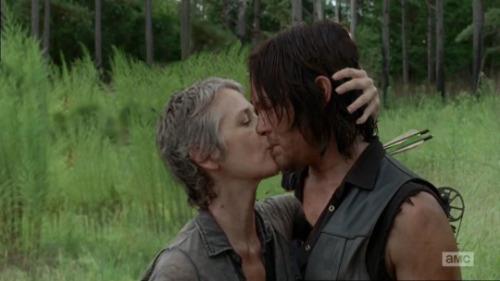 The Walking Dead: Daryl e Carol