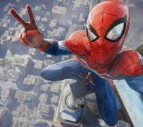 Spidey festeggia il suo successo su PS4