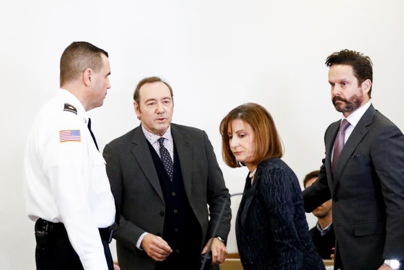 Kevin Spacey in tribunale
