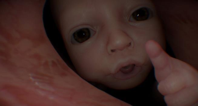 Il bambino di Death Stranding