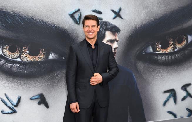 Tom Cruise sul red carpet