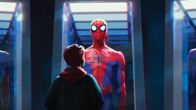 Peter Parker e Miles Morales, i due Spider-Man