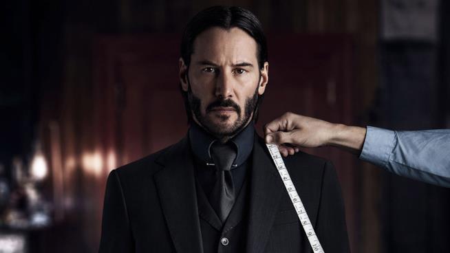 Keanu Reeves alias John Wick