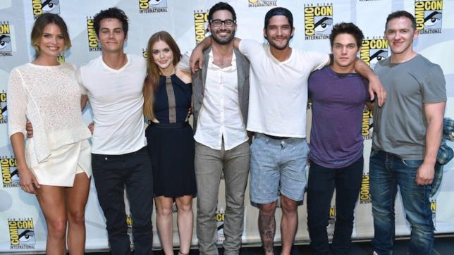 Tutti gli attori di Teen Wolf al ComicCon di San Diego