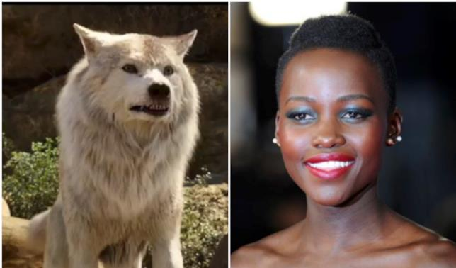 Raksha in un collage con Lupita Nyoung'o