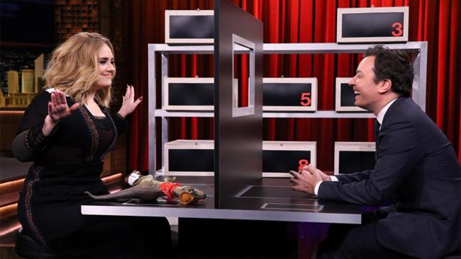 Adele ospite da Jimmy Fallon