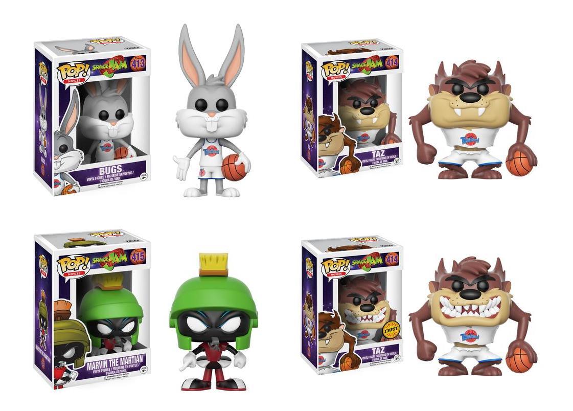 I Funko Pop! Vinyl di Bugs Bunny, Eta Beta e Taz