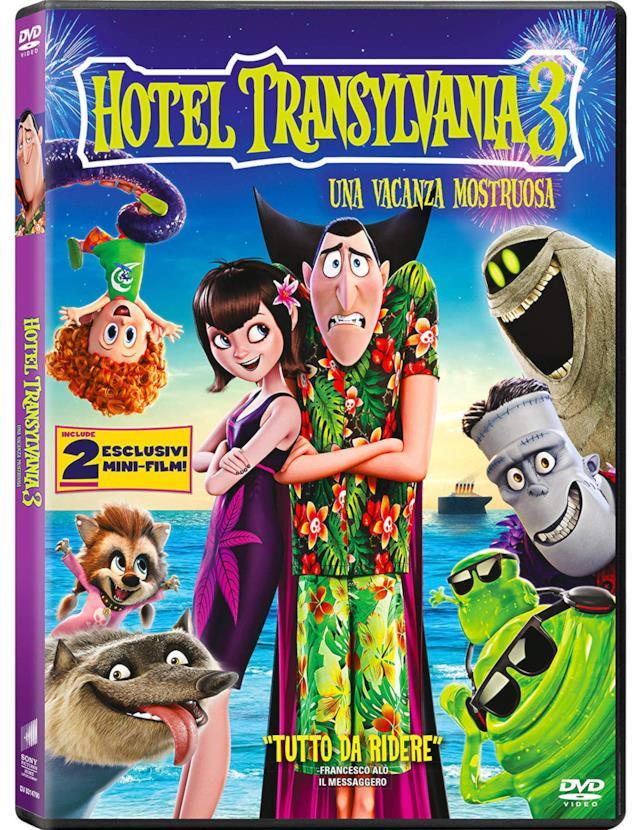 Hotel Transylvania 3: Una vacanza mostruosa - DVD