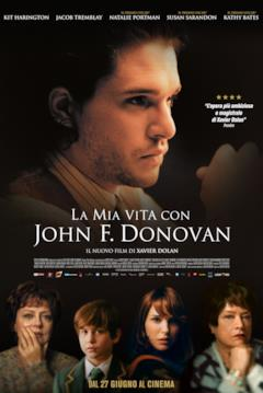 Il poster italiano de La mia vita con John F. Donovan