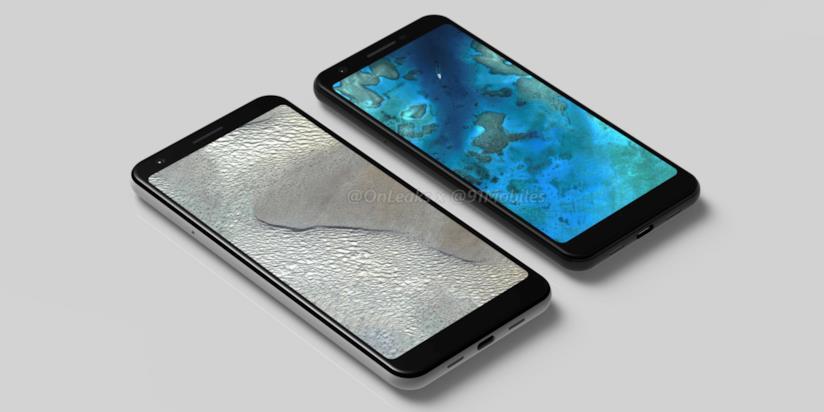 Pixel 3a e 3a XL nel concept di OnLeaks e 91Mobiles