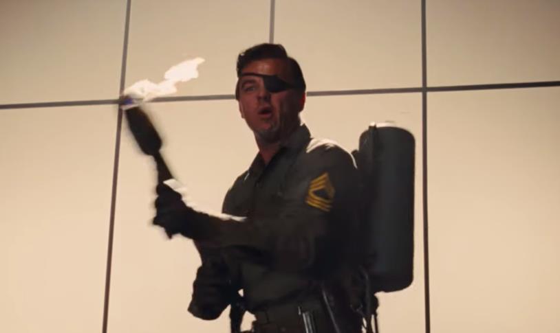 DiCaprio in una scena del film