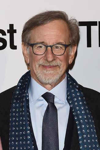 Un primo piano del regista Steven Spielberg