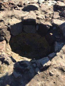 Il sito archeologico dove è stata ritrovata la distilleria