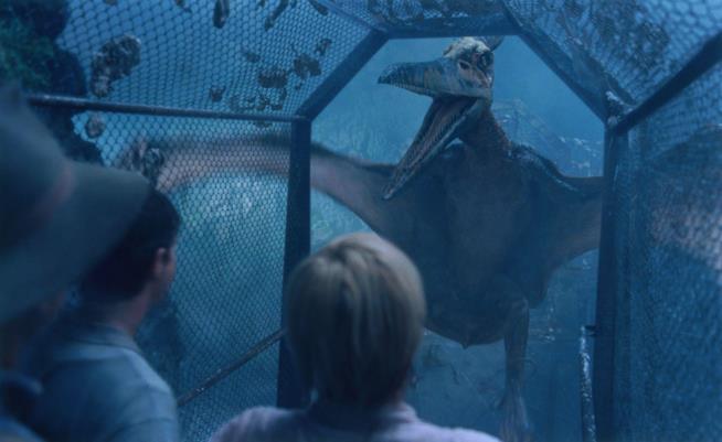 Una scena di Jurassic Park 3