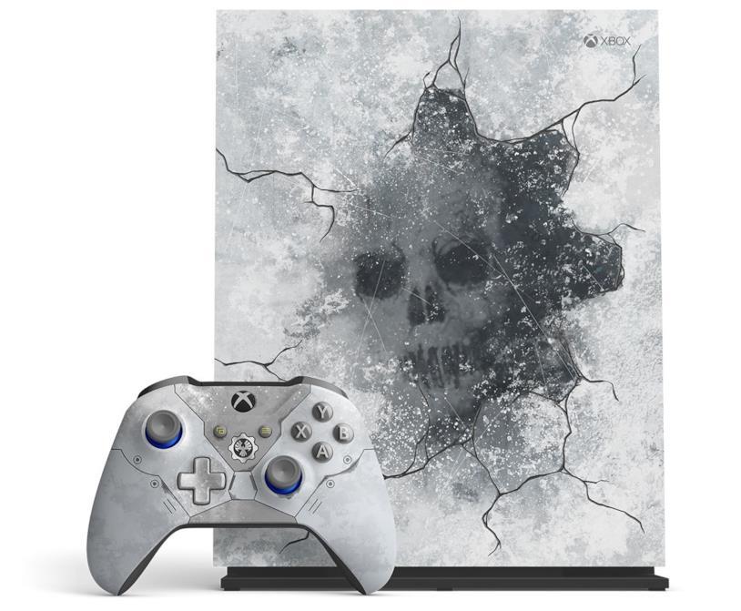 Immagine stampa della Xbox One X Gears 5 Limited Edition