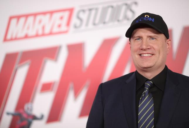 Kevin Feige alla première di Ant-Man and the Wasp