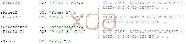 I nomi Pixel 3a e 3a XL scovati nel codice di Android Q