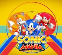 La cover ufficiale di Sonic Mania con i tre protagonisti