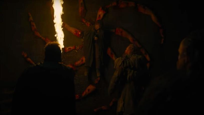 GoT 8: la macabra firma del Night King a Ultimo Focolare