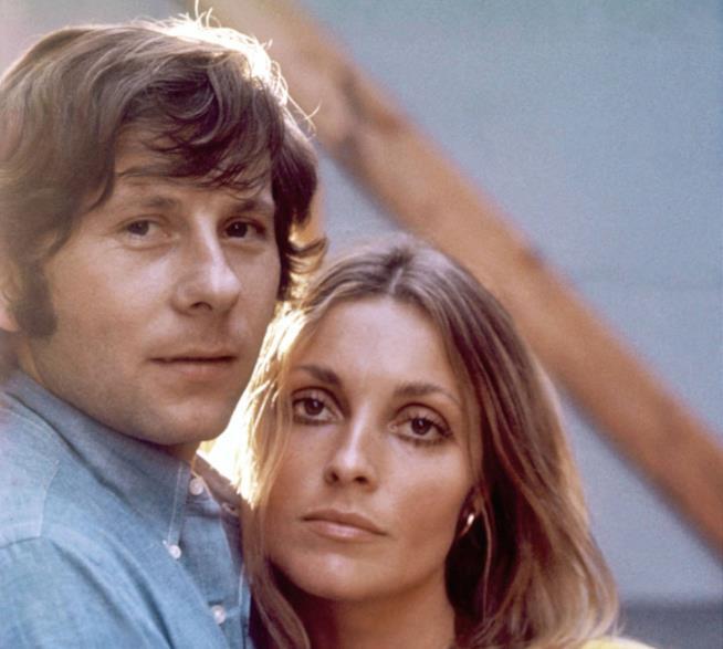 Roman Polanski e la compagna Sharon Tate