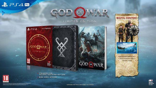 La Limited Edition di God of War sarà in vendita solo da Unieuro