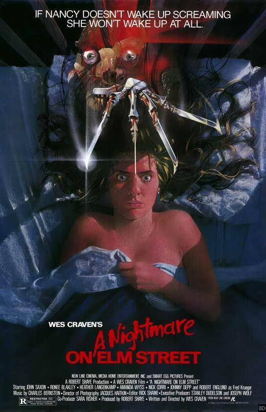 Il poster di Nightmare - Dal profondo della notte del 1984