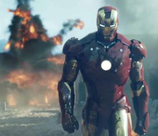 Iron Man nel film del 2008