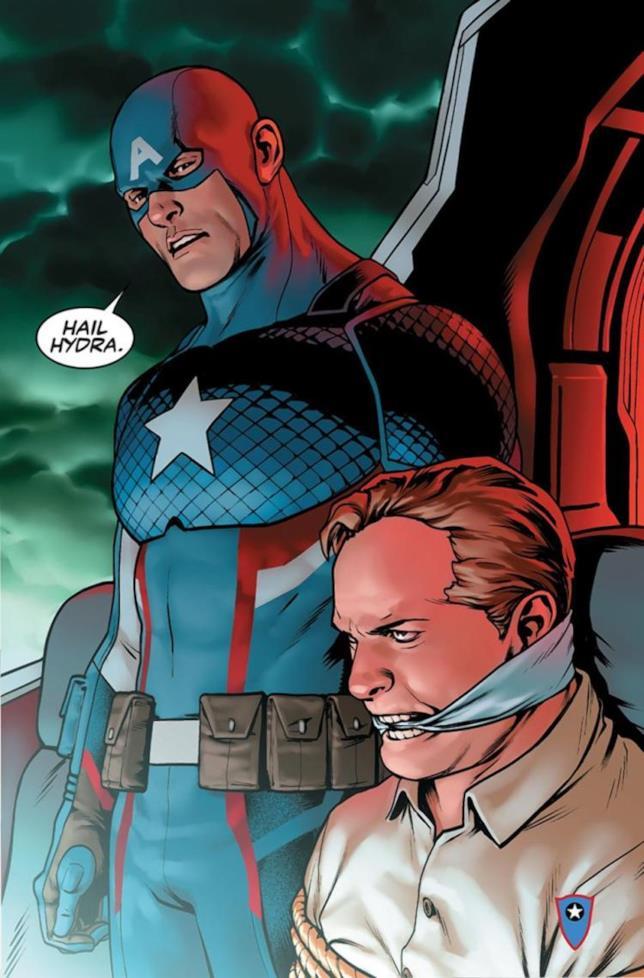 Steve Rogers svela la sua alleanza all'Hydra