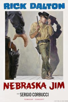 Rick Dalton è Nebraska Jim nel poster in stile italiano