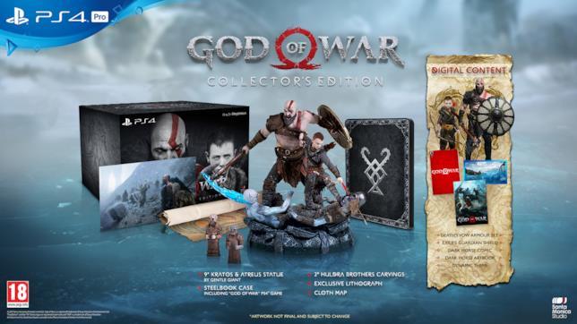 Il nuovo God of War in uscita il 20 aprile 2018 solo su PS4