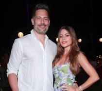 Sofia Vergara e Joe Manganiello in primo piano