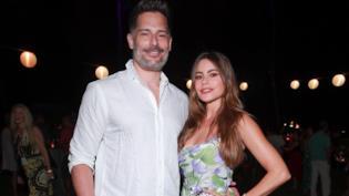 Sofia Vergara e Joe Manganiello in primo piano